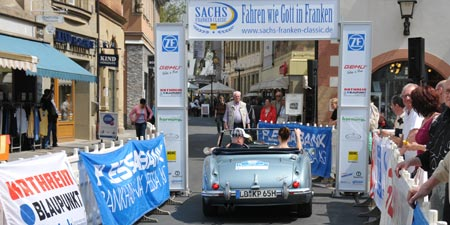 Der Prolog der ADAC Sachs Franken Classic in Bad Kissingen