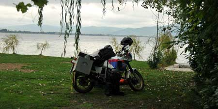 On the way to Tierra del Fuego - stopover at Lake Ohrid
