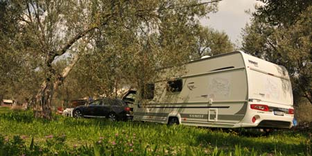 Camping Freedom with Caravan