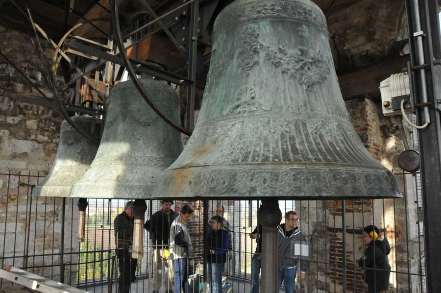 Aquileia – youngsters learning to ring the bells