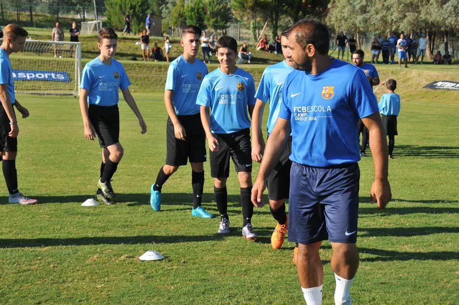 Fc Barcelona Escola Soccer Camp In Thessaloniki