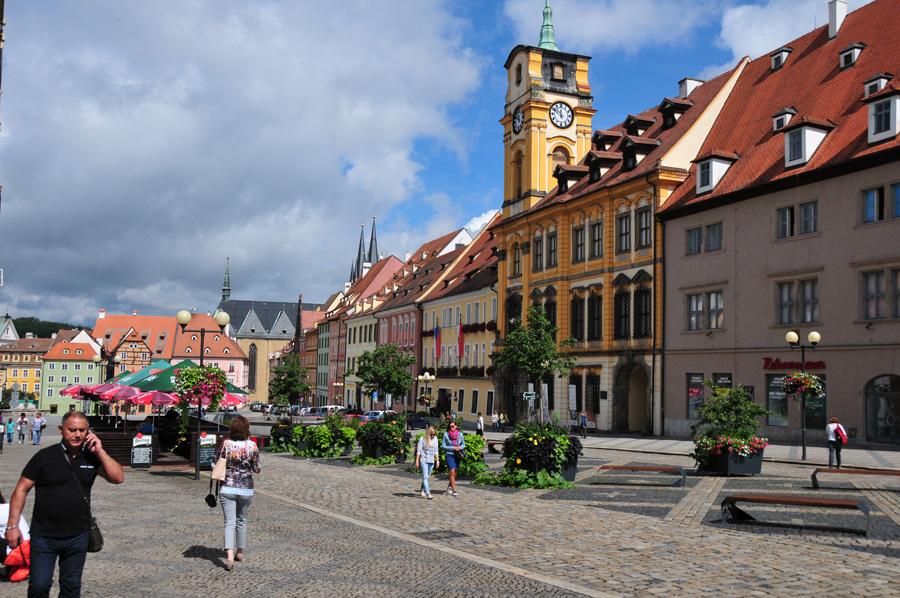 Zur Geschichte der Stadt Eger - heute Cheb in Tschechien