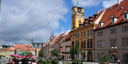 About the history of Eger - today Cheb in the Czech Republic