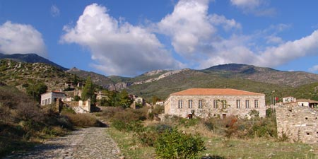 Old Doganbey Village • Domatia
