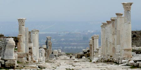 Laodicea at the Lycos near Pamukkale next to Denizli