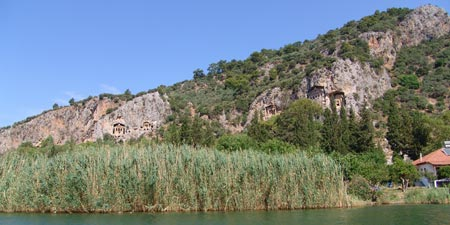 Dalyan - Lake of Köycegiz and Caunos