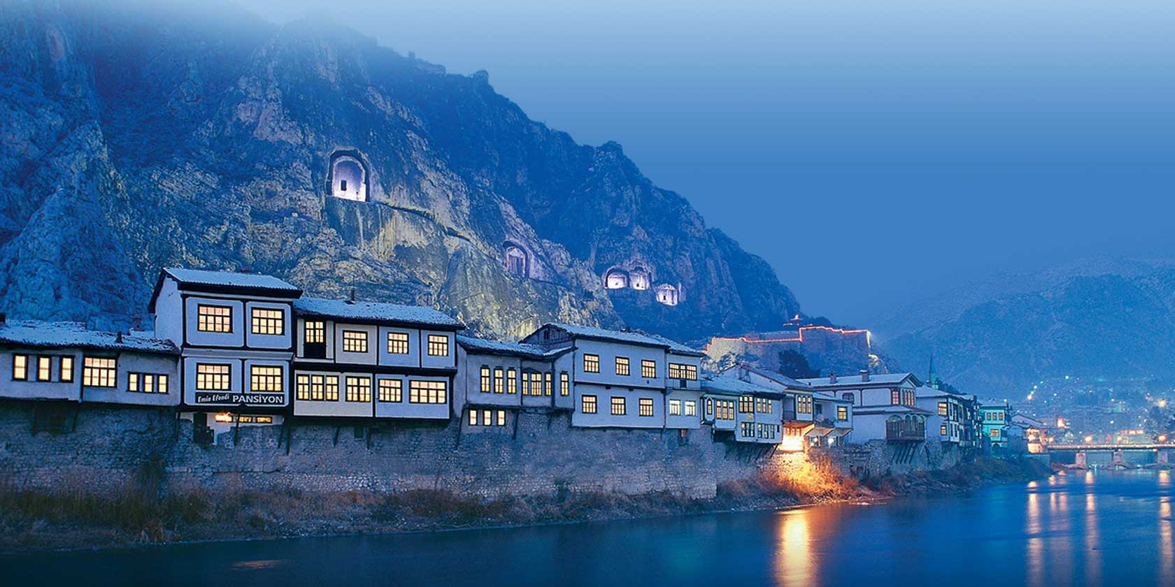 Amasya - birthplace of the Historian Strabon