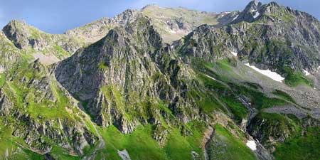 At Kaçkar Dağı, the highest peak in the Pontic Mountains