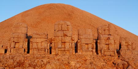 Nemrut Mountain - Ancient  monuments at the Euphrate