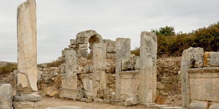 The ancient town of Perge