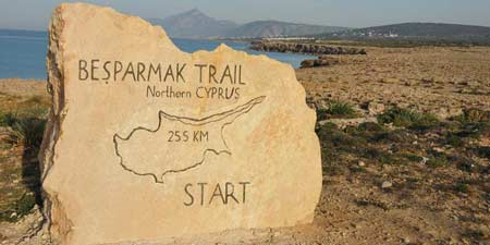 Northern Cyprus - Hiking along the stations of Besparmak Trails
