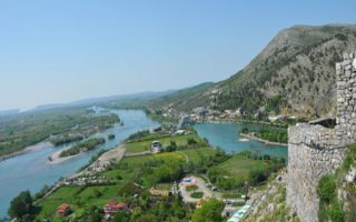 Aus dem Skutarisee ins Adriatisches Meer - die Buna