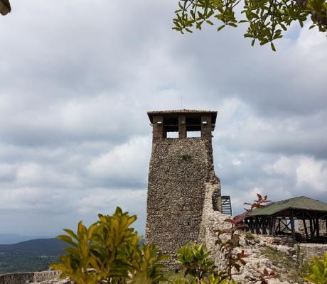 Our tour through the impressive fortress of Kruja