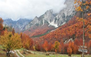 Peaks of the Balkans - Valbona Tal Fernwanderweg