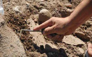 Antike Medikament Flaschen in der Türkei gefunden