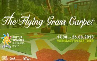"""Kulturkarawane - viel Bewegung auf dem """"Flying Grass Carpet"""""""