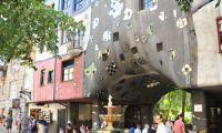 Friedensreich Hundertwasser - architect and environmentalist
