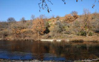 Hiking, mountain biking and fishing at Agkistro