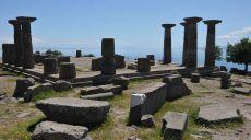 Die Ruinenstadt Assos in der türkischen Provinz Canakkale