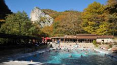 Hiking and bathing at the thermal baths of Pozar