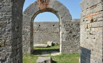 The ancient Amphitheater of Salona