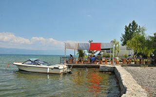 Makedonya Ohrid Gölü Kıyısında Rino Kamp Alanı ve Komşularımız