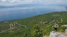 Anfahrt zur Bergwanderung Magaro im Galičica-Gebirge