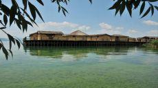 Das Museum auf dem Wasser am Ohridsee
