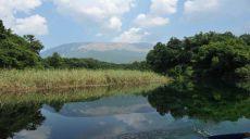 At the underwater springs of Lake Ohrid in Sveti Naum
