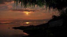 Camping Aktivitäten - Abendstimmung am Ohridsee