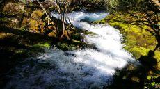 Die Wasserfälle von Vevcani - parkähnliche Anlage Struga
