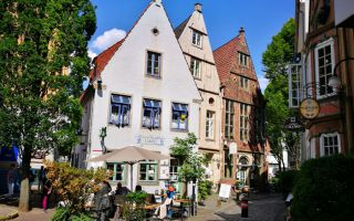 The Schnoor - Bremen's most famous visitor magnet