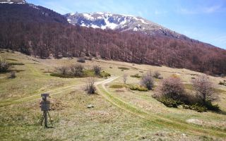 Going for Magaro Mountain at National Park Galicica