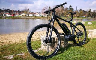 Mountainbike - First test tour of the RR920 along the Main river