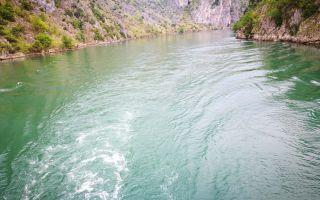 Canyon boat trip after exploring Shurdah Island