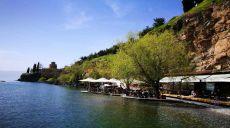Ein besonderes Highlight in Ohrid - die Uferpromenade
