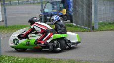 Oldtimer-Motorradrennen auf dem Nürburgring