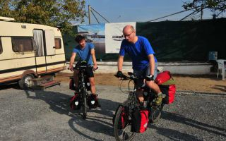 From Thessalonica to Budva - a cycling tour in October