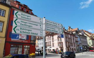 Exploring Rottweil - by E-bike from Nature-Camping