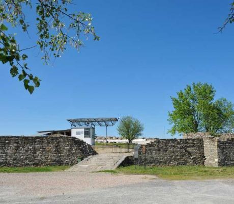 Station 36 - Camperstop in Stobi - Archeological site