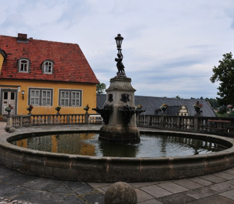 Palace Heidecksburg in Rudolfstadt - a day's excursion