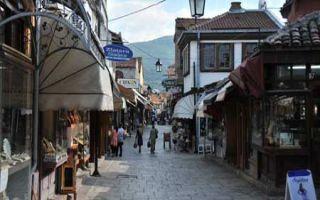 Skopje - Osmanische Herrschaft in Üskub