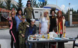 Tsiknopempti – bei Zampetas feiert man Karneval familiär