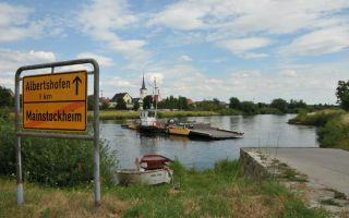 River Main Cycle Route and First Discovery | Kitzingen - Albertshofen - Dettelbach
