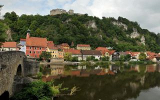 Pearl of the Naab Valley: The Town of Kallmünz and Castle Ruins
