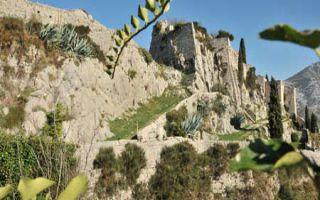 Die Festung Klis - Bollwerk zur Halbinsel von Split