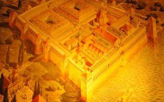Der Diokletianspalast von Asphalatos im modernen Split