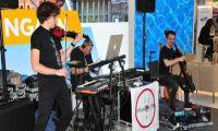 InFusion Trio, die Looperband weltweit auf der CMT