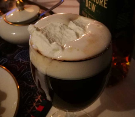 Irish Coffee - when it's cold and greyish outside
