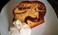 Marble cake with cream liqueur - made in the camper!